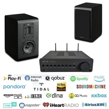 Quad Vena II Play Digital Bluetooth System with S-1 Speakers and Free cables