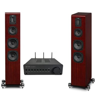 Quad Vena II Play Streaming Hi-Fi System with Quad S-4 Speakers and Free cables