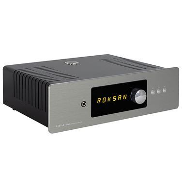 Roksan Blak Integrated Amplifier (non USB) in Anthracite Silver