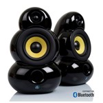 Scandyna SmallPod Mk2 Bluetooth speakers in Black