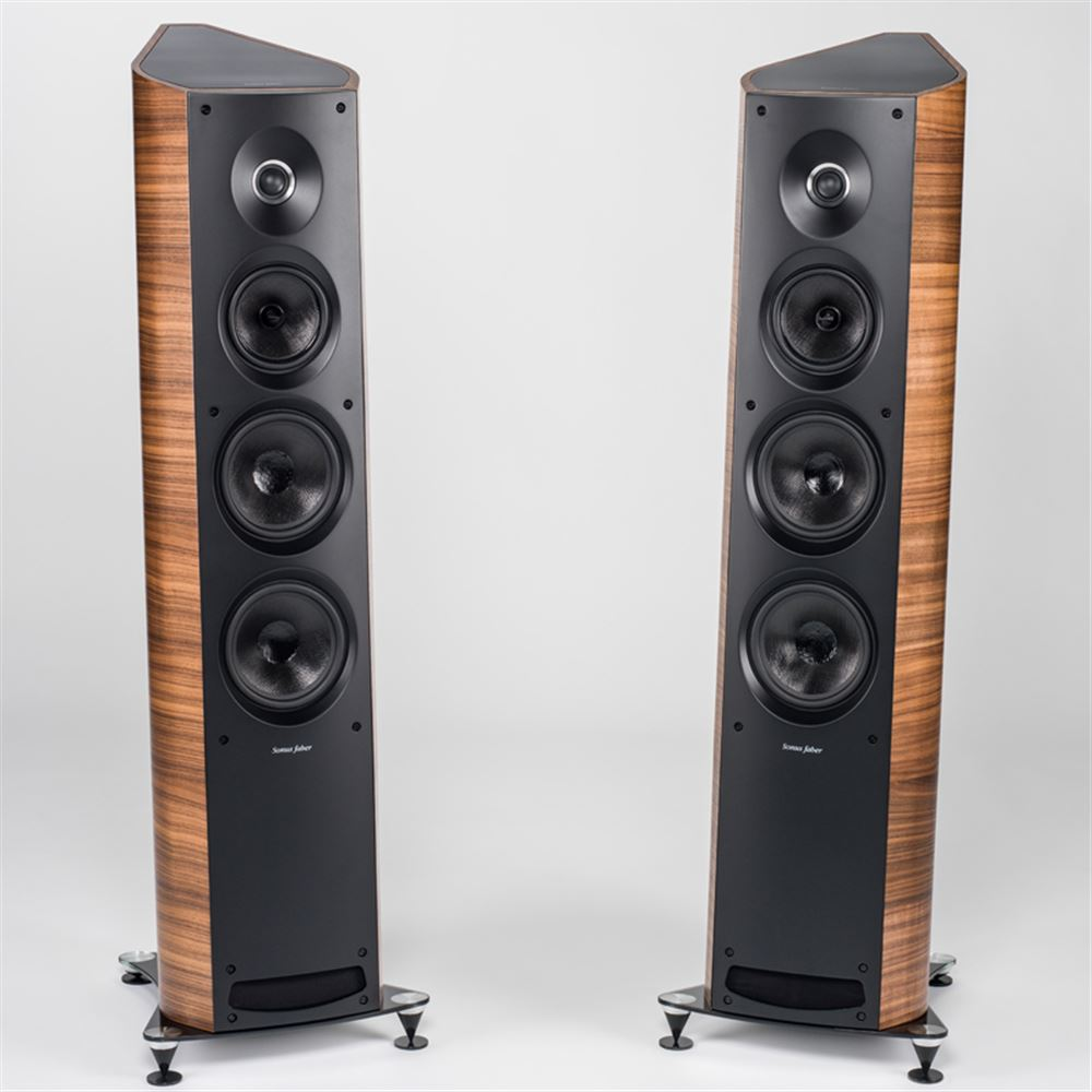 Ex Display Sonus Faber Venere 3 0 Floorstanding Loudspeakers in Walnut