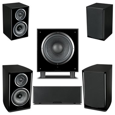 Wharfedale Diamond 11.1 AV 5.1 Cinema Speaker Package