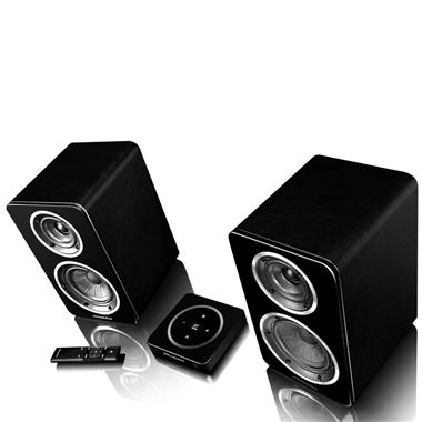 Wharfedale Diamond A1 Active Bookshelf Speakers Inc. H1 Hub