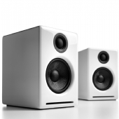 Ex Display AudioEngine A2+ Active Speakers with USB in Gloss White