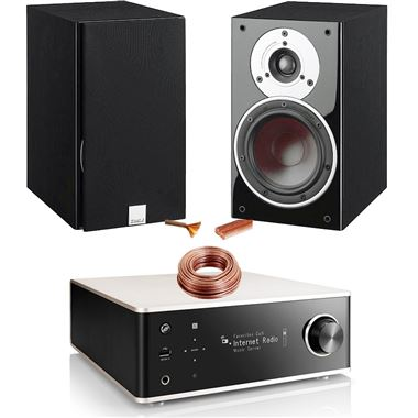 Denon DRA-100 HiFi System with Dali Zensor 1 Speakers