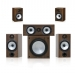 Monitor Audio Reference MR2-AV 5.1 Speaker Pack in Black Oak