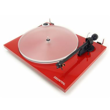 Project Essential III A Turntable inc. Lid and Ortofon Cartridge