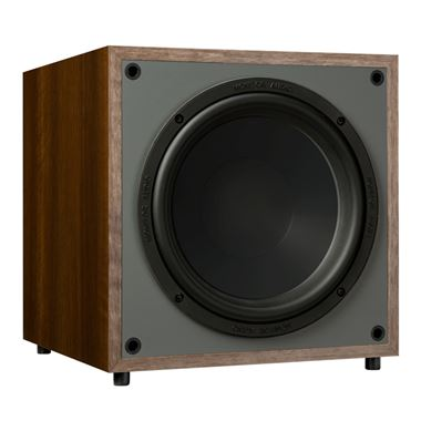 Ex Display Monitor Audio - Monitor Series MRW-10 Active Subwoofer in Walnut