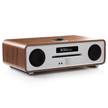 Ex Display Ruark Audio R4 Mk3 Integrated Music System with CD in Walnut