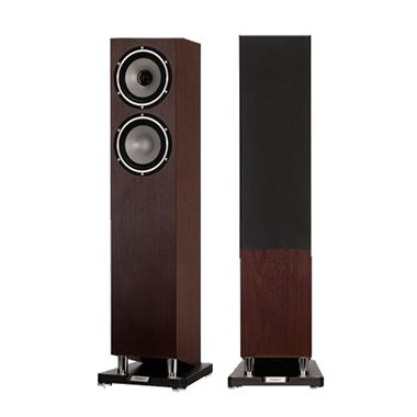 Tannoy Revolution XT 6F speakers in Dark Walnut