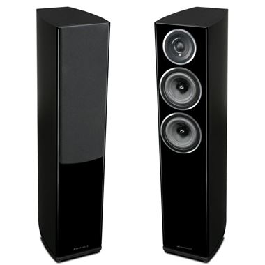 Ex Display Wharfedale Diamond 11.3 Floorstanding Speakers in Blackwood
